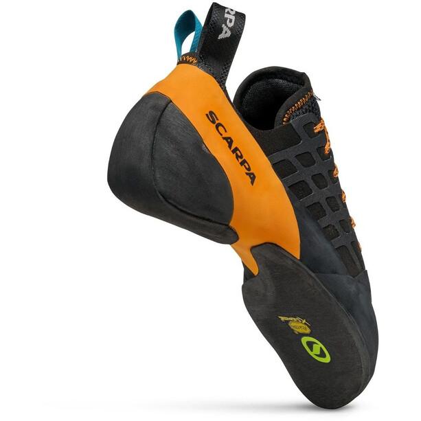 Scarpa Instinct Lace Climbing Shoes, noir/orange