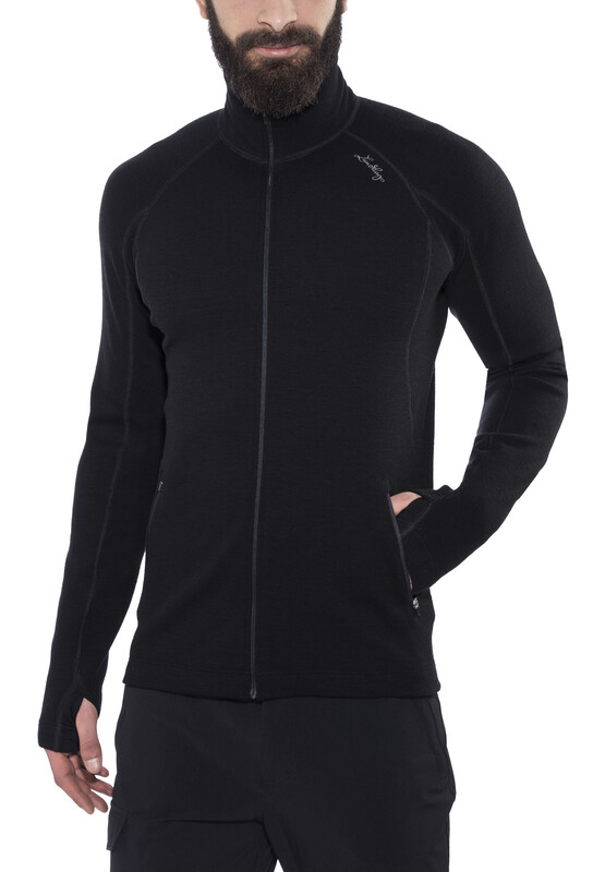 Lundhags Merino Full Zip Men Black XL 2017 Sweatshirts & Trainingsjacken, Gr. XL