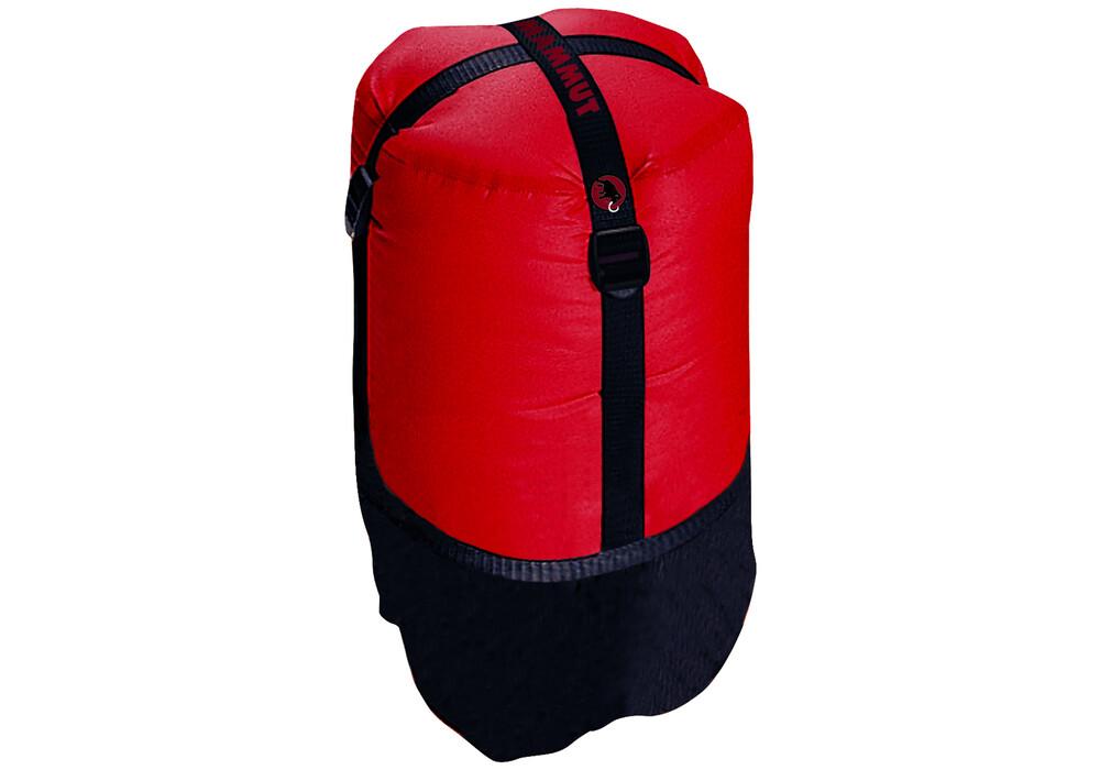 Mammut compression sack m rouge noir sur for Housse de compression sac de couchage