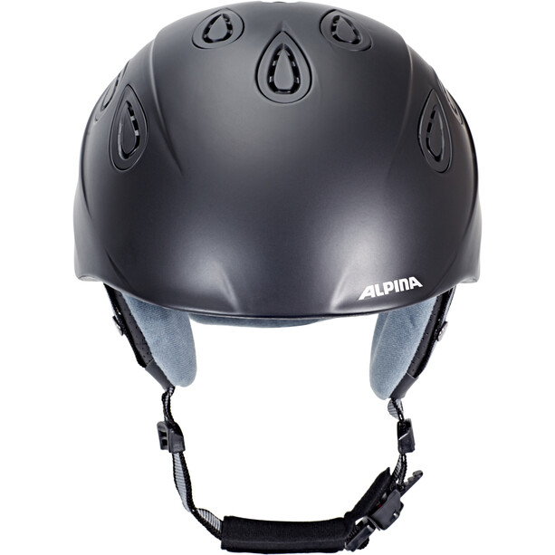 Alpina Grap 2.0 Skihelm black matt