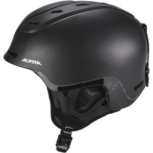 Alpina Spine Casque de ski, noir noir