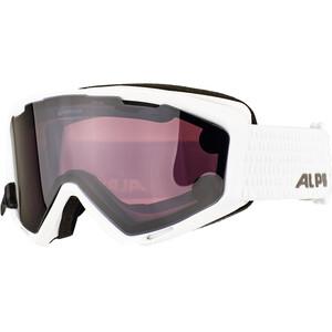 Alpina Panoma S Magnetic Q+S S1+S3 Lunettes de protection Femme, blanc/noir blanc/noir