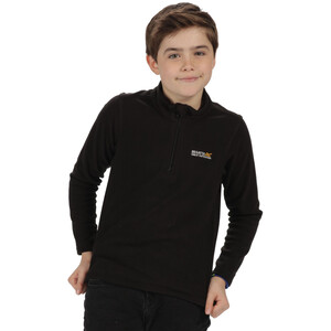 Regatta Hot Shot II Fleece-villapaita Lapset, black/black black/black