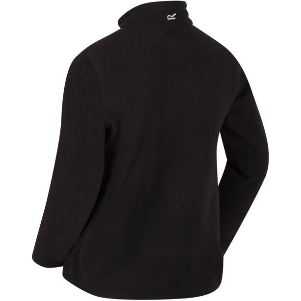 Regatta Hot Shot II Fleece-villapaita Lapset, black/black