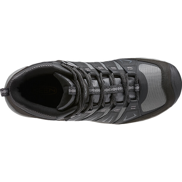 Keen Oakridge Mid WP Shoes Herr magnet/gargoyle