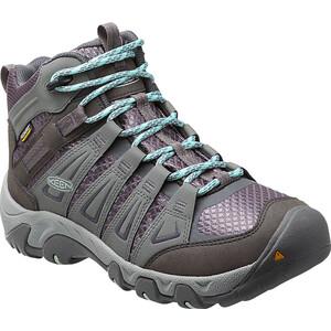 Keen Oakridge Mid WP Shoes Dam gray/shark gray/shark
