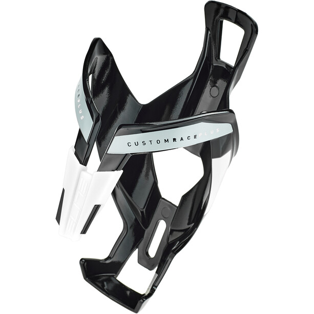 Elite Custom Race Plus Bottle Holder black/glossy white