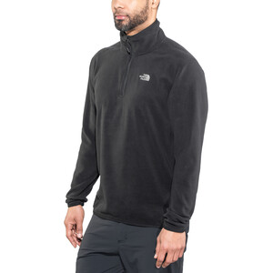 The North Face 100 Glacier 1/4 Zip Herren tnf black tnf black