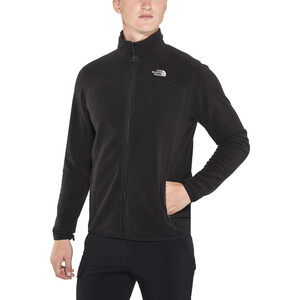 The North Face 100 Glacier Full-Zip Jacke Herren tnf black tnf black