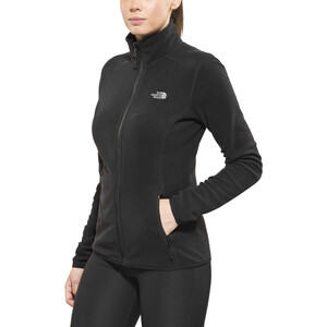 The North Face 100 Glacier Full-Zip Jacke Damen tnf black tnf black