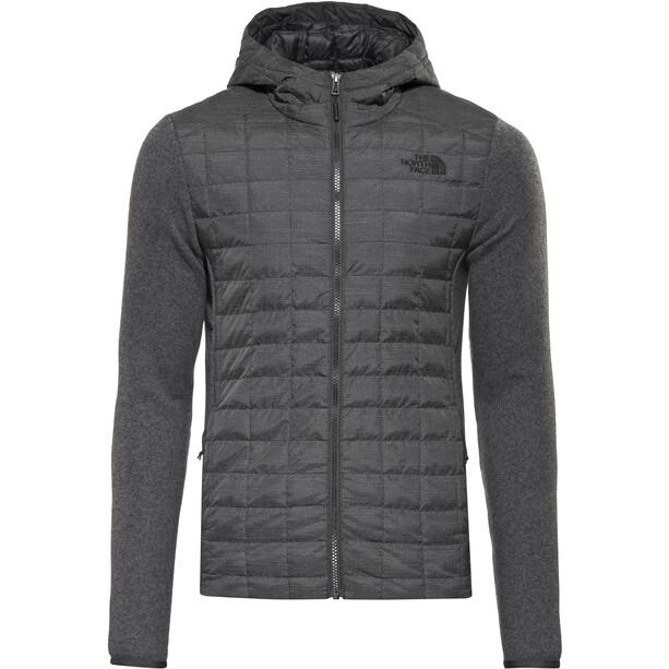 The North Face Thermoball Gordon Lyons Hybrid Hoodie Herren tnf black/tnf dark grey heather