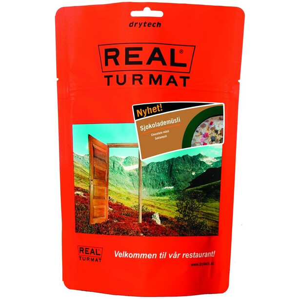Real Turmat Outdoor Breakfast 350g Chocolate Muesli