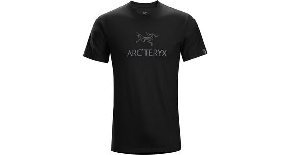 Arc 39 teryx m 39 s arc 39 word ss t shirt black iron anvil for Arcteryx arc word t shirt