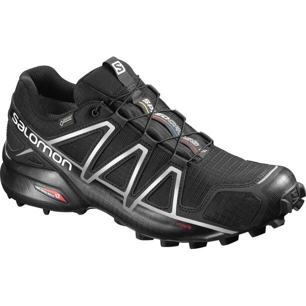 Salomon Speedcross 4 GTX Shoes Herr black/black/silver metallic-x
