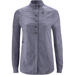Klättermusen Lofn Shirt Dam blå blå