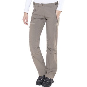 VAUDE Farley II Stretch T-Zip Capri Damen coconut coconut