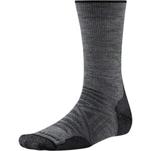 Smartwool PhD Outdoor Light Crew-Cut Socken medium gray medium gray
