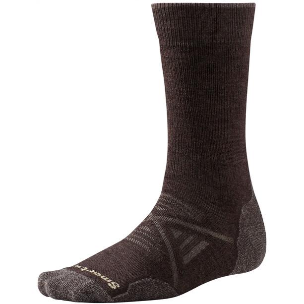Smartwool PhD Outdoor Medium Crew-Cut Socken chestnut