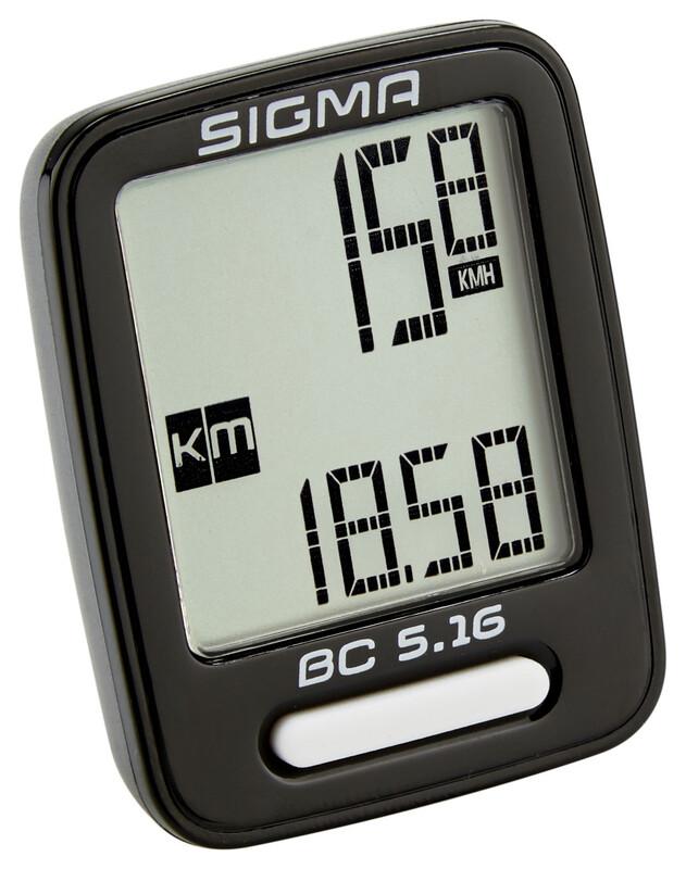 SIGMA SPORT BC 5.16 Fahrradcomputer Fahrradcomputer 05160