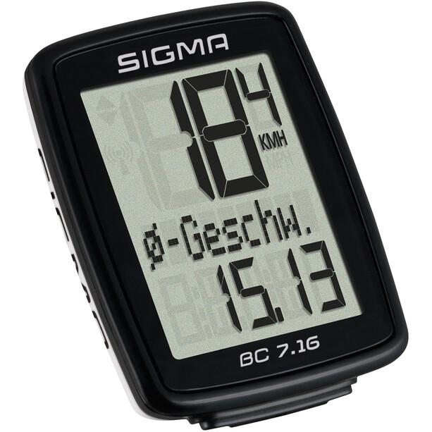 SIGMA SPORT BC 7.16 Sykkelcomputer kabeldreven