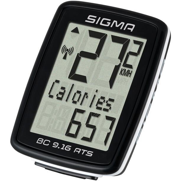 SIGMA SPORT BC 9.16 ATS Fahrradcomputer kabellos