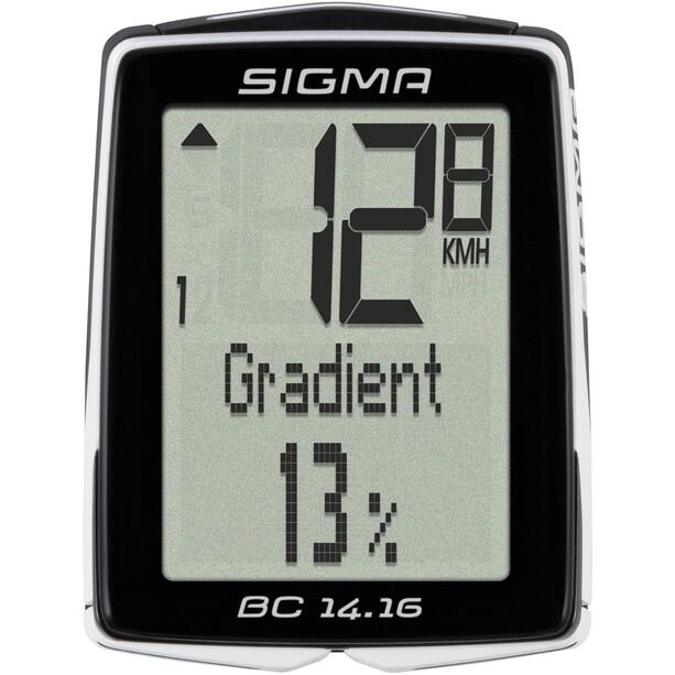 SIGMA SPORT BC 14.16 Fahrradcomputer kabelgebunden