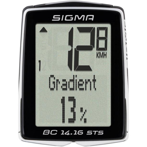SIGMA SPORT BC 14.16 STS CAD Cykelcomputer trådlås
