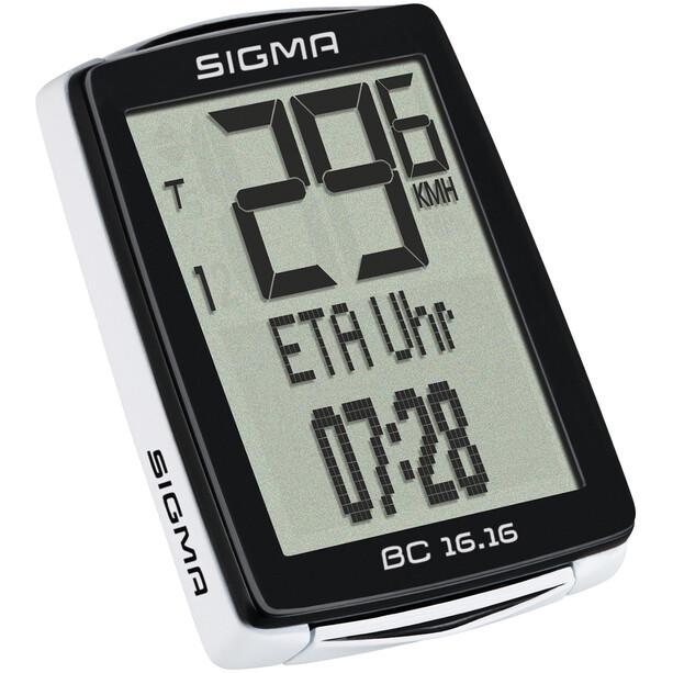 SIGMA SPORT BC 16.16 Fahrradcomputer kabelgebunden