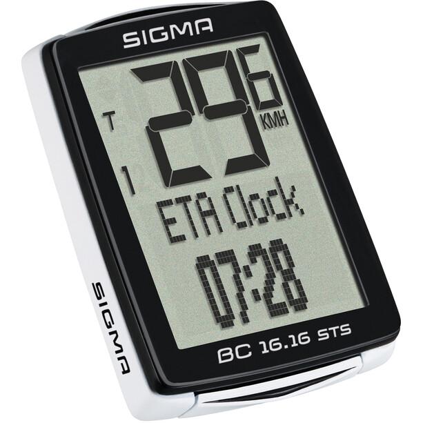 SIGMA SPORT BC 16.16 STS CAD Compteur de vélo sans fil