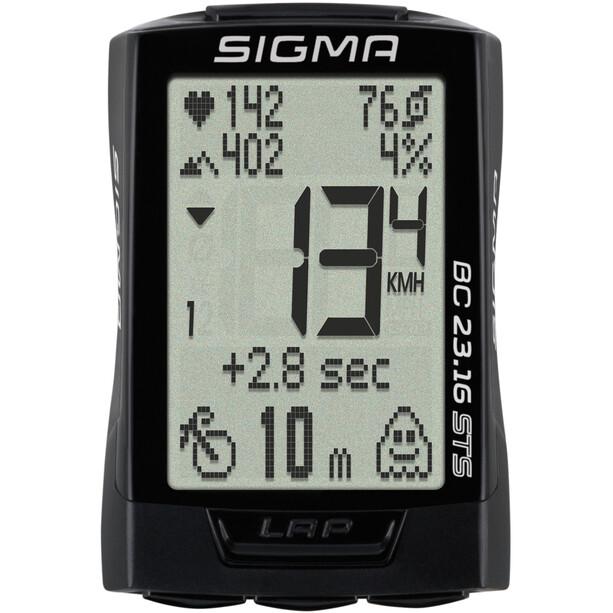 SIGMA SPORT BC 23.16 STS Fahrradcomputer kabellos