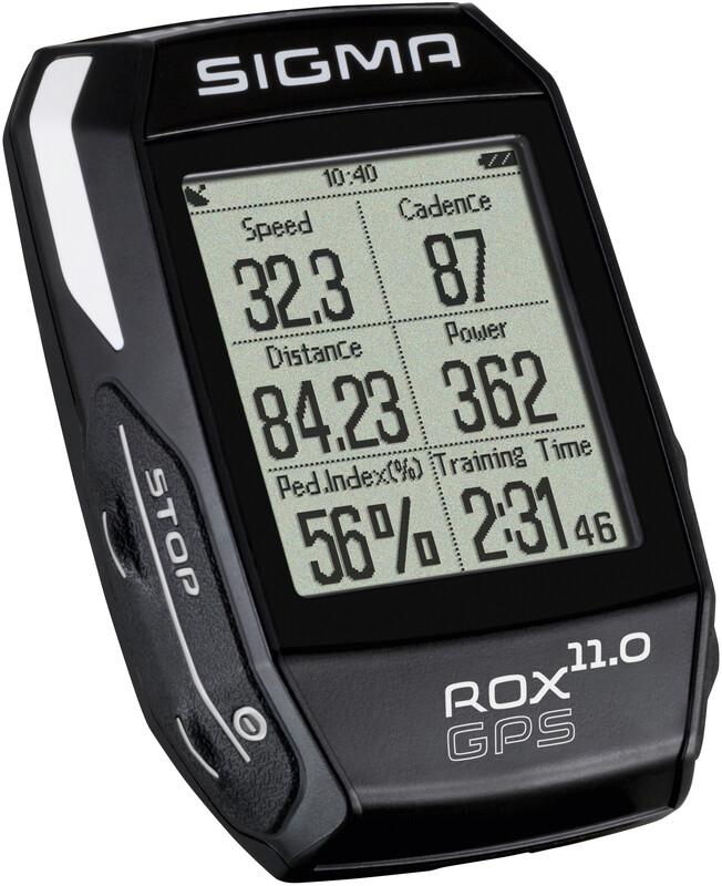 SIGMA SPORT ROX 11.0 GPS Fahrradcomputer Set schwarz Fahrradcomputer 01008