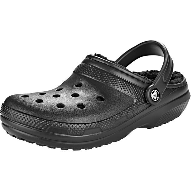 Crocs Classic Lined Clogs black/black