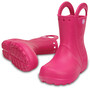 Crocs Handle It Regenstiefel Kinder candy pink