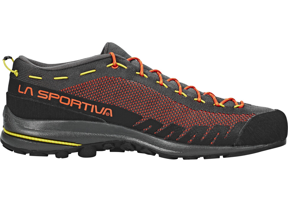la sportiva tx2 chaussures gris orange sur. Black Bedroom Furniture Sets. Home Design Ideas