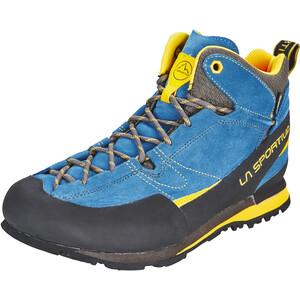 La Sportiva Boulder X Mid Schuhe Herren blue/yellow blue/yellow