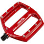 Red Cycling Products Flat Pedal AL red