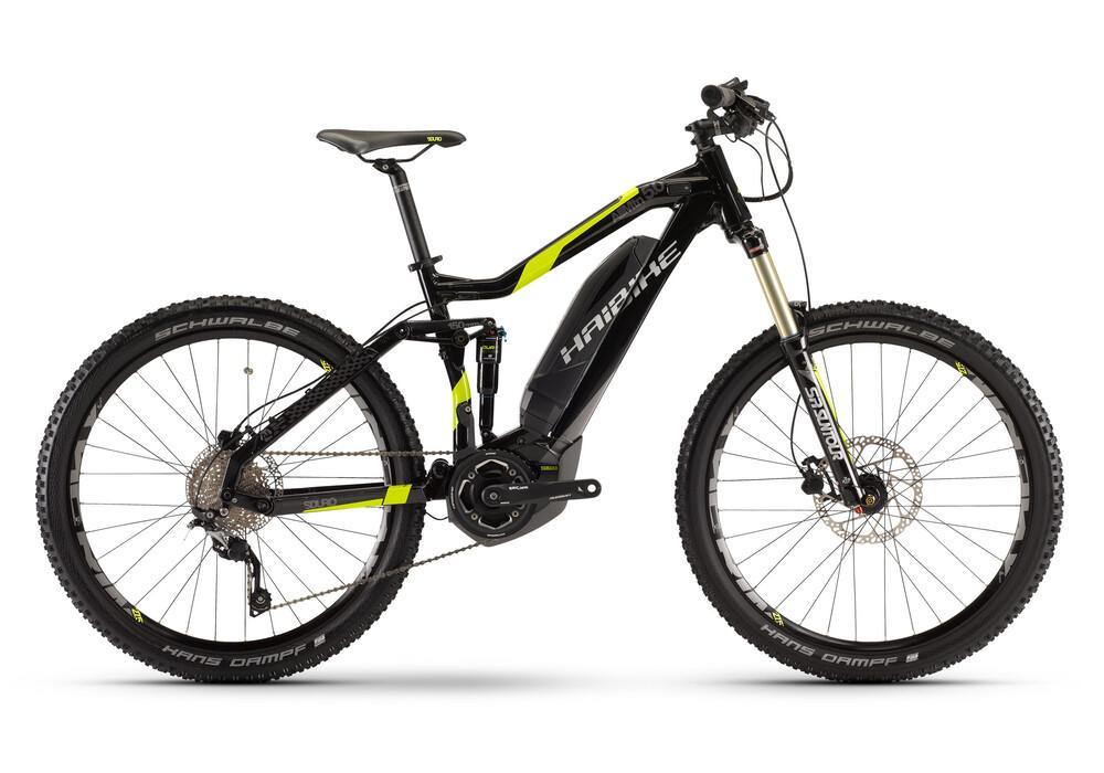 haibike sduro allmtn 5 0 27 5 schwarz lime online kaufen bei bikester. Black Bedroom Furniture Sets. Home Design Ideas
