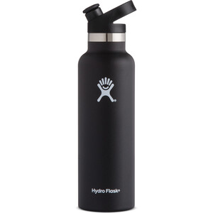 Hydro Flask Standard Mouth Sport Bottle 621ml black black