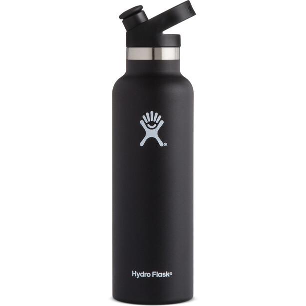 Hydro Flask Standard Mouth Sport Bottle 621ml black