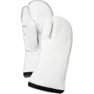Hestra Heli Ski 3-Finger Liner vit vit