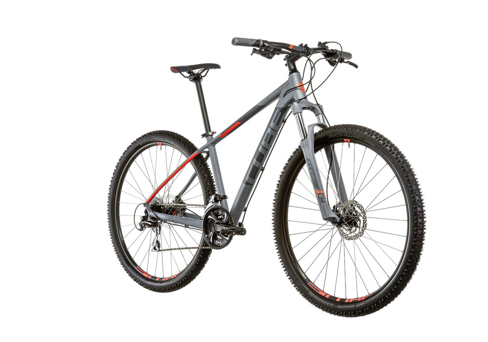 cube aim race grey 39 n 39 flashorange online kaufen bei bikester. Black Bedroom Furniture Sets. Home Design Ideas