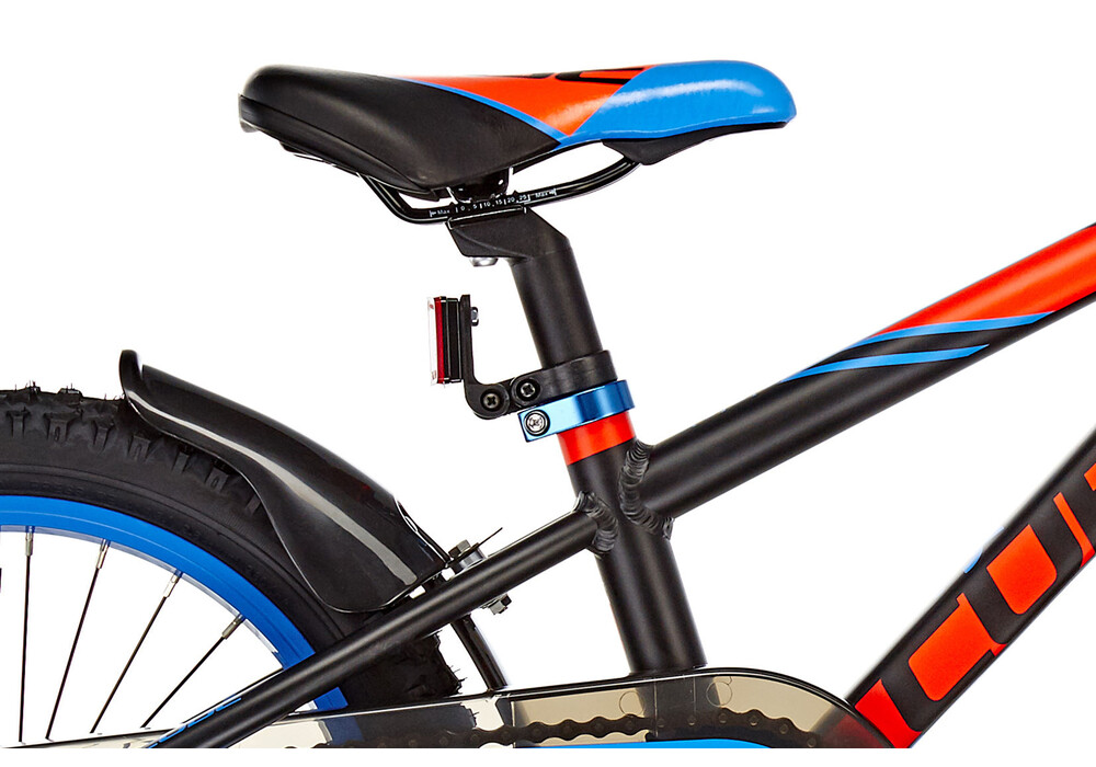 cube kid 160 16 bicicletas para ni os negro rojo azul flash. Black Bedroom Furniture Sets. Home Design Ideas