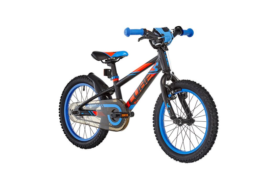 cube kid 160 16 black 39 n 39 flashred 39 n 39 blue online kaufen bei bikester. Black Bedroom Furniture Sets. Home Design Ideas