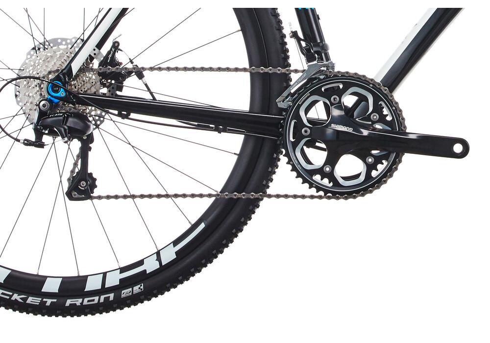 cube cross race black 39 n 39 white online kaufen bei bikester. Black Bedroom Furniture Sets. Home Design Ideas