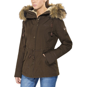 Tenson Zarah Jacke Damen dark brown dark brown
