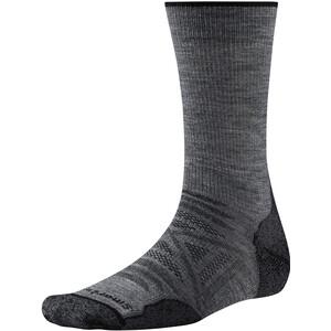 Smartwool PhD Outdoor Light Crew Socks grå grå