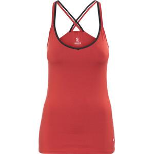 Ocun Corona Top Damen lava red lava red