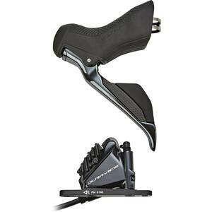 Shimano Dura-Ace Di2 ST-R9170/BR-R9170 Scheibenbremse Vorderrad schwarz schwarz