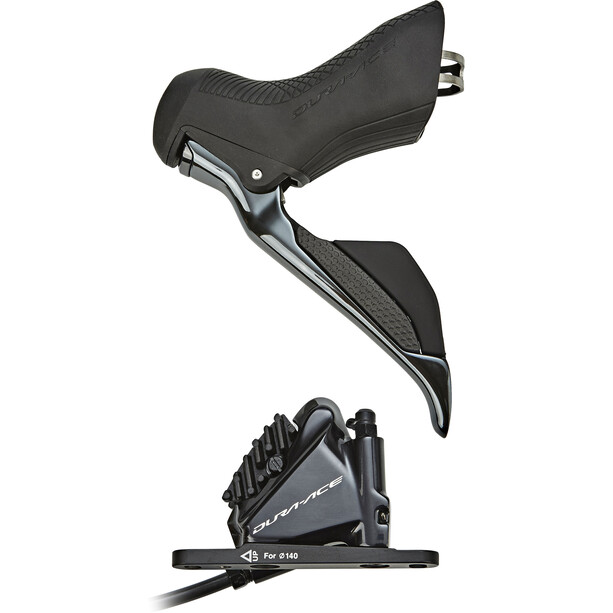 Shimano Dura-Ace Di2 ST-R9170/BR-R9170 Scheibenbremse Vorderrad schwarz