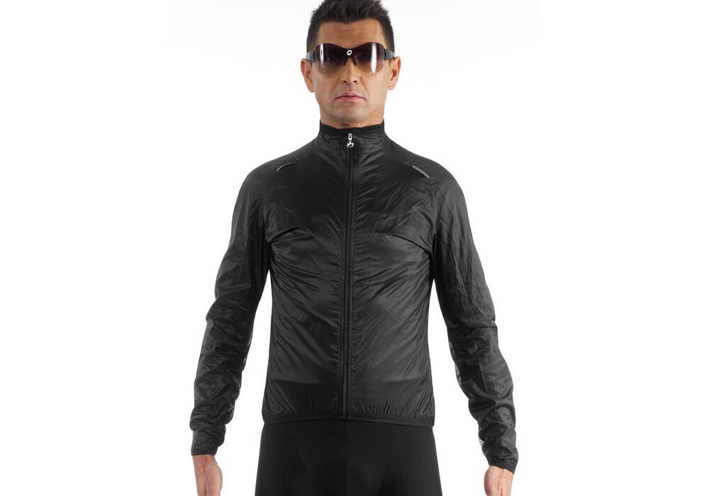 assos wind jacket men black series g nstig kaufen bei. Black Bedroom Furniture Sets. Home Design Ideas
